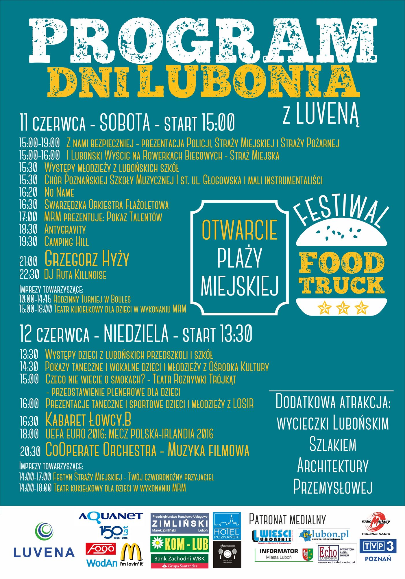 Dni Lubonia 2016 - program