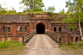 Fort III - jeden z fortów głównych twierdzy fortowej